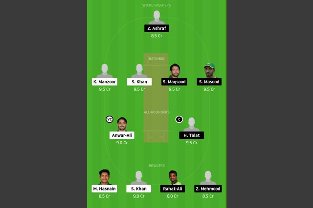 SIN vs SOP Dream11 Team - Experts Prime Team