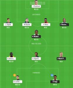 SOU vs EVE Dream11 Team - Experts Prime Team