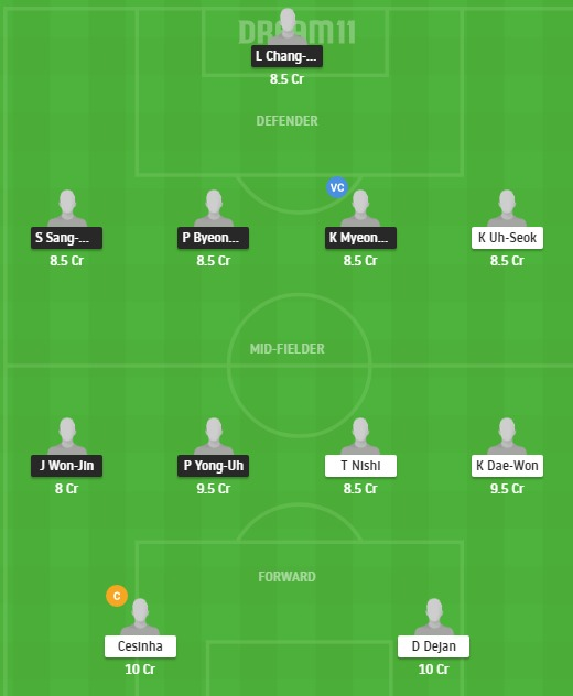 SSMG vs DAE Dream11 Team - Experts Prime Team