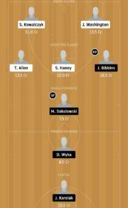 STG vs LEW Dream11 Team - Experts Prime Team