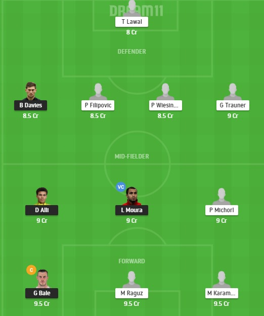 TOT vs LAK Dream11 Team - Experts Prime Team