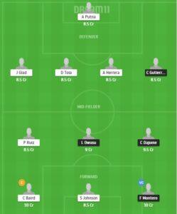 VAN vs RSLC dream11 team For Today Match
