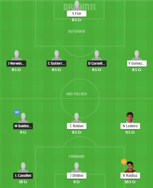 VAN vs SS Dream11 Team - Experts Prime Team