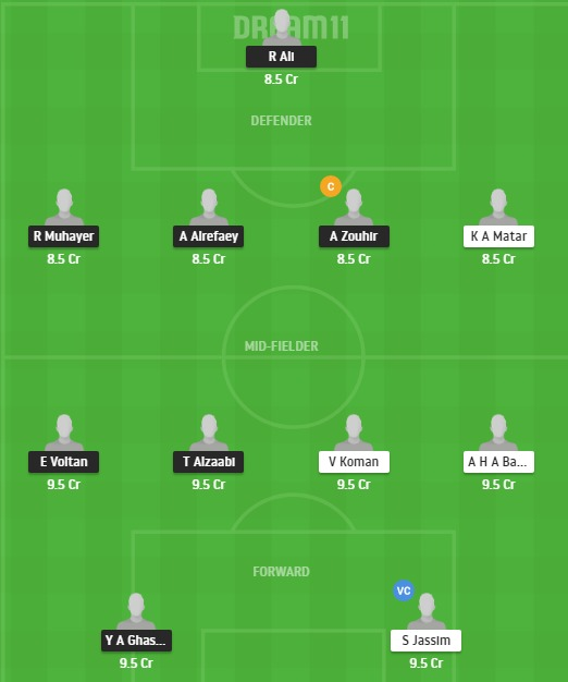 WAH vs HTA Dream11 Team - Experts Prime Team
