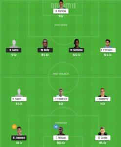 WOL vs NEW Dream11 Team - Experts Prime Team