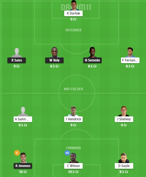 WOL vs NEW Dream11 Team - Experts Prime Team