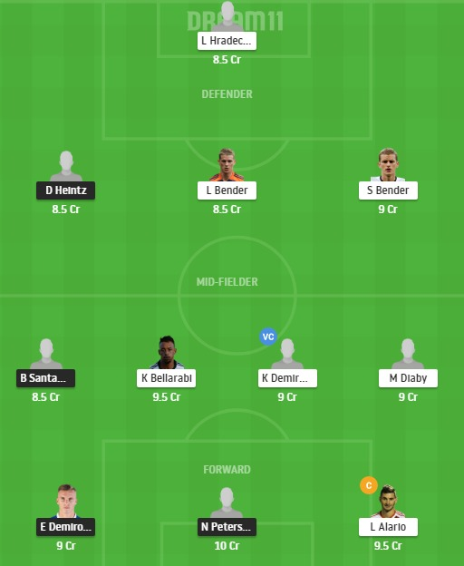 FRB vs LEV Dream11 Team - Experts Prime Team