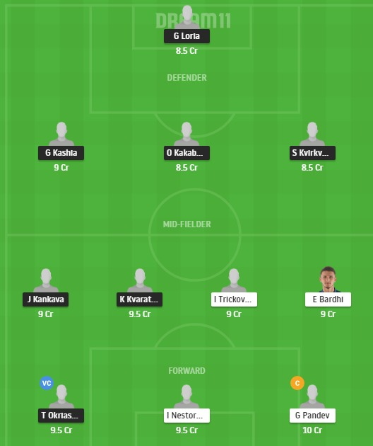 GEO vs MCD Dream11 Team - Experts Prime Team