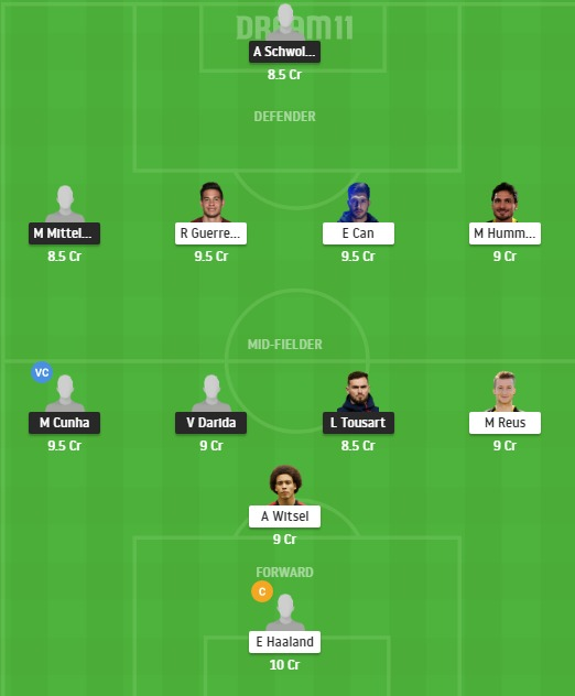 HER vs DOR Dream11 Team - Experts Prime Team