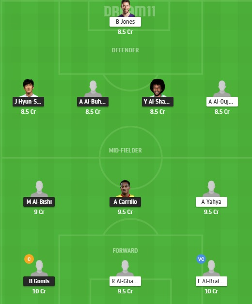 HLL vs NSSR Dream11 Team - Experts Prime Team
