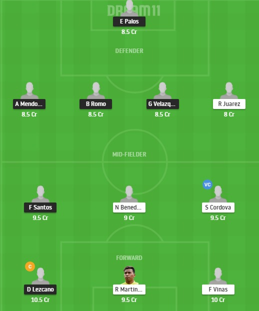 JUA vs AME Dream11 Team - Experts Prime Team