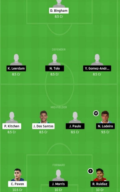 LAG vs SS Dream11 Team - Experts Prime Team