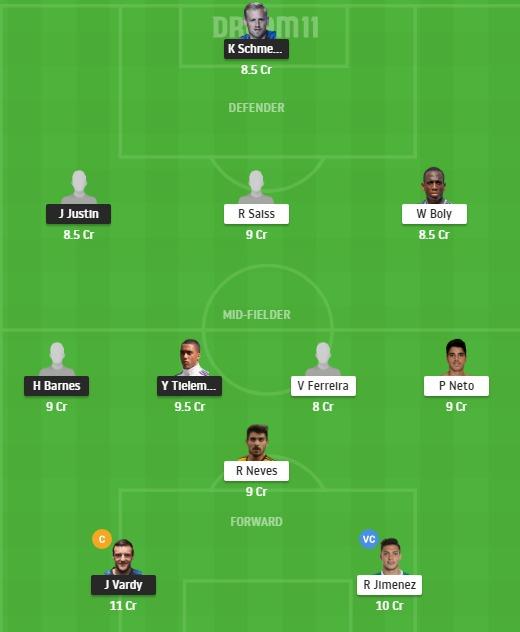 LEI vs WOL Dream11 Team - Experts Prime Team