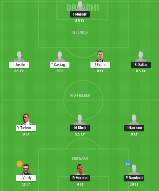 LU vs LEI Dream11 Team - Experts Prime Team