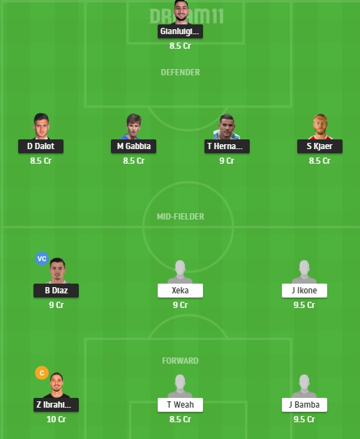 MIL vs LIL Dream11 Team - Experts Prime Team