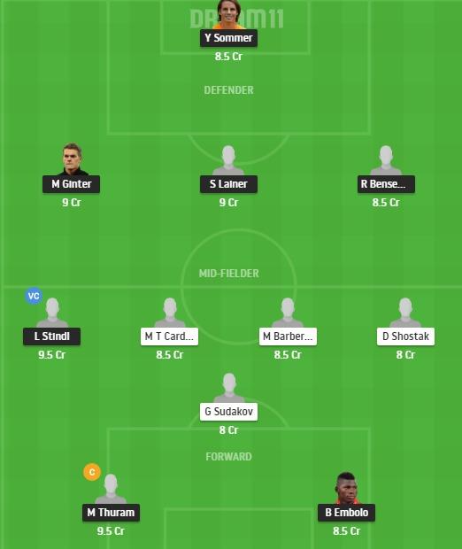 MOB vs SHA Dream11 Team - Experts Prime Team