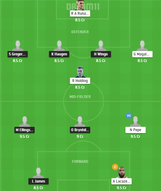 MOL vs ARS Dream11 Team - Experts Prime Team