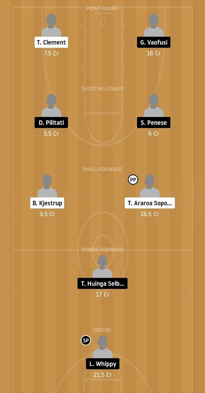 OTG vs CAS Dream11 Team - Experts Prime Team