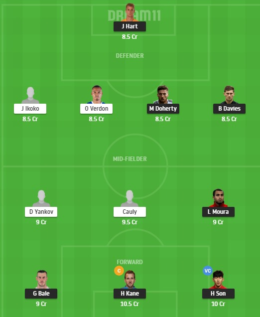 TOT vs LUD Dream11 Team - Experts Prime Team
