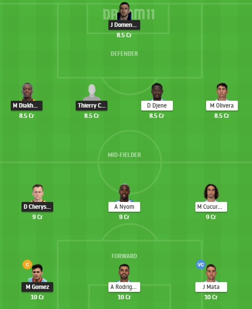 VAL vs GEF Dream11 Team - Experts Prime Team