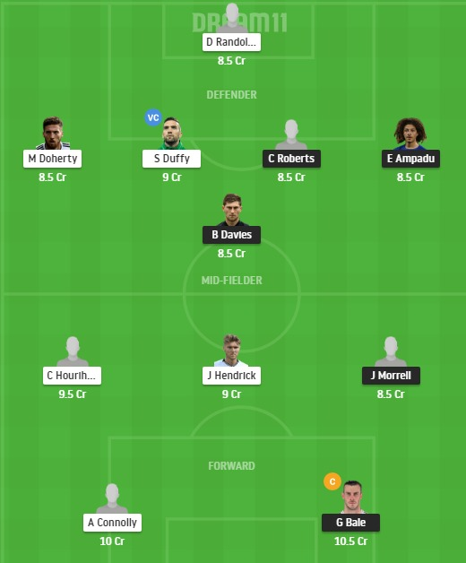 WAL vs IRE Dream11 Team - Experts Prime Team