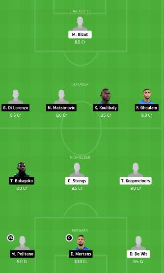 ALK vs NAP Dream11 Team Prediction