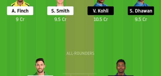 AUS vs IND Dream11 Team Prediction - 3rd ODI Match