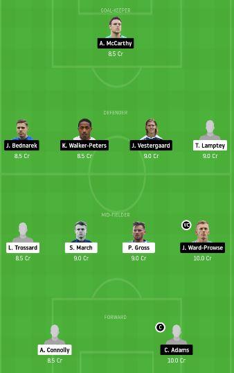 BHA vs SOU Dream11 Team Prediction - Today Match