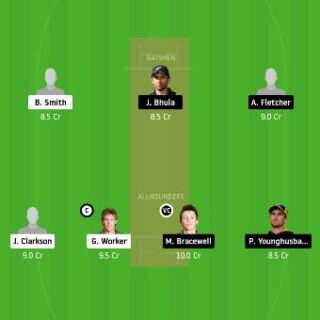 CD vs WEL Dream11 team prediction- 12th match today