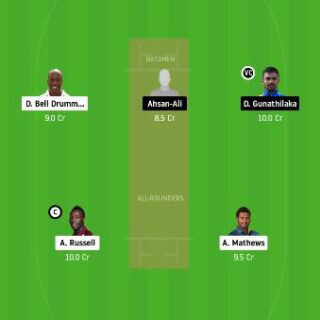 CK vs GG Dream11 Team Prediction - Semi Final Match