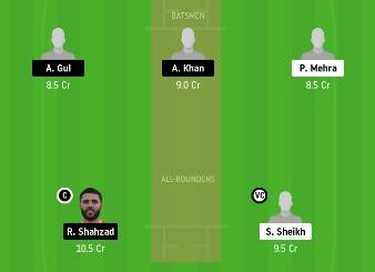 DUB vs AJM dream11 prediction