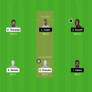 DV vs CK dream11 fantasy cricket prediction