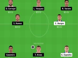 EIB vs RM Dream11 Team fantasy Prediction
