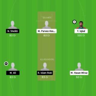 FBA vs BDH dream11 fantasy cricket prediction - 20th Match Bangladesh T20