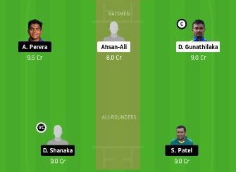 GG vs DV Dream11 Team Prediction - 17 Match today