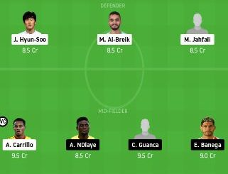 HLL vs SHB Dream11 Team fantasy Prediction