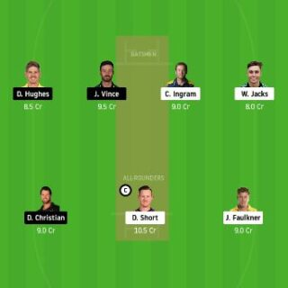 HUR vs SIX Dream11 Team Prediction 1st match today