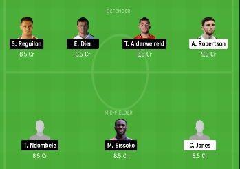 LIV vs TOT Dream11 Team Prediction