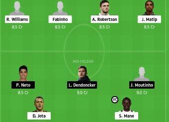 LIV vs WOL Dream11 Team Prediction