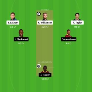 NZ vs WI Dream11 Team Prediction - 2nd Test Match
