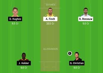 REN vs SIX dream11 team prediction