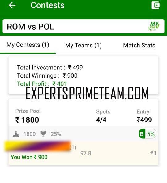 ROM-VS-POL-Dream11-Results-