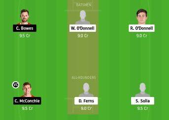 AA vs CK dream11 fantasy cricket prediction