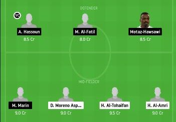 ALQ vs AHL Dream11 Team fantasy Prediction