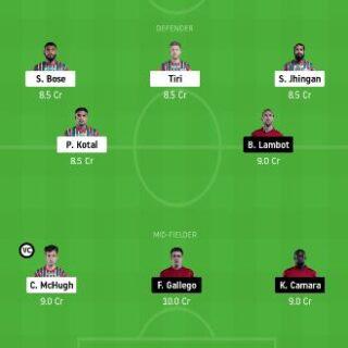 ATKMB vs NEUFC dream11 team prediction