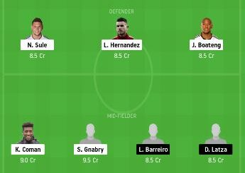 BAY vs MAZ dream11 team prediction