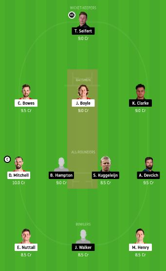 CK vs NK dream11 team fantasy cricket prediction