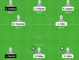 FEN vs ANK Dream11 Team fantasy Prediction
