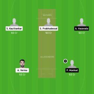 GOA vs SAU dream11 team fantasy cricket prediction