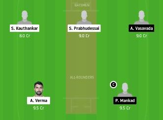 GOA vs SAU dream11 team fantasy cricket prediction